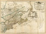Robert Sayer - A General Map of the Northern British Colonies in America, 1776