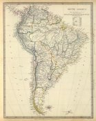 Society for the Diffusion of Useful Knowledge - South America, 1842