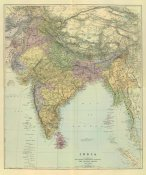 Edward Stanford - Composite: India, 1901