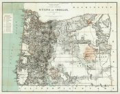 U.S. General Land Office - State of Oregon, 1879