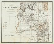 U.S. General Land Office - Territory of Arizona, 1879