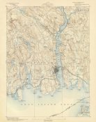 U.S. Geological Survey - New London, Connecticut, 1893
