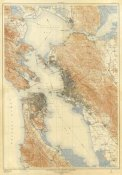 U.S. Geological Survey - San Francisco and Vicinity, California, 1915