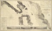 United States Coast Survey - Entrance to San Francisco Bay California, 1859