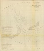 United States Coast Survey - Hatteras Inlet, North Carolina, 1853