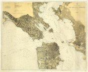 United States Coast Survey - West Coast - San Francisco, California, 1926