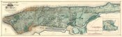 Egbert L. Viele - Sanitary & Topographical Map of the City and Island of New York, 1865