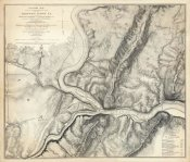 John E. Weyss - Civil War Map of the Country Adjacent to Harper's Ferry, Virginia, 1863