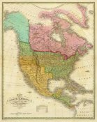 Anthony Finley - Map of North America Including All The Recent Geographical Discoveries, 1826