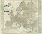 Thomas Kitchin - Composite: Europe, 1787