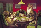 C.M. Coolidge - Poker Dogs: Stun, Shock and the Win, 1903