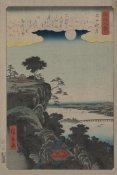 Ando Hiroshige - Autumn moon at Ishiyama (Ishiyama no shugestu), 1857