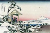 Hokusai - Tea House at Koishikawa, 1830