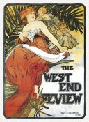 Alphonse Mucha - The West End Review, 1898