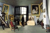 Unknown - Bazille's Studio: 9 rue de la Condamine, 1870
