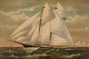 Unknown - Yacht Norseman of New York, 1882