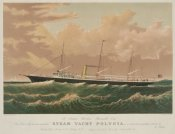 Unknown - Steam yacht Polynia, 1884