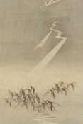 Unknown - Thunder and lightning over rice grain, 1900