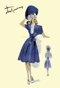 Unknown - Summer Polka-Dot Dress and Hat, 1947