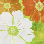 Kay Daichi - Tangerine, Green and Ivory II