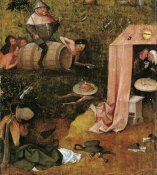 Hieronymus Bosch - Allegory Of Gluttony And Lust
