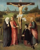 Hieronymus Bosch - Calvary With Donor