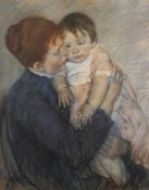 Mary Cassatt - Agatha And Her Child 1891