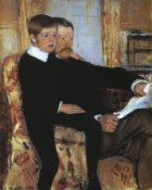 Mary Cassatt - Alexander And His Son Robert 1885