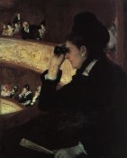 Mary Cassatt - At The Opera 1879