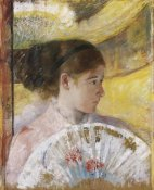 Mary Cassatt - At The Theater 1879