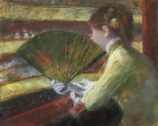 Mary Cassatt - At The Theater II 1879