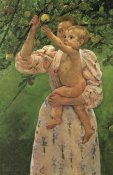 Mary Cassatt - Baby Reaching For An Apple 1893