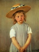 Mary Cassatt - Child With Straw Hat