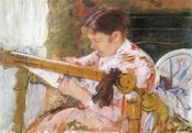 Mary Cassatt - Lydia Working At A Tapestry Frame 1881