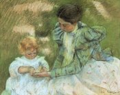 Mary Cassatt - Mother Playing With Her Child 1897