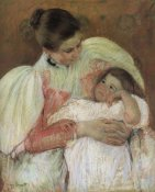 Mary Cassatt - Nurse And Child 1897