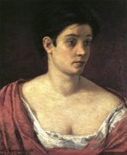 Mary Cassatt - Portrait Of A Woman 1872