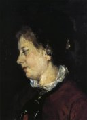 Mary Cassatt - Portrait Of Madame Sisley 1873