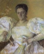 Mary Cassatt - Portrait Of Mrs H O Havemeyer 1896