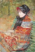 Mary Cassatt - Profile Portrait Of Lydia 1880