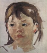 Mary Cassatt - Sketch Of Mary Ellen 1899