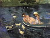 Mary Cassatt - Summertime II 1894