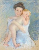 Mary Cassatt - Tendresse Maternelle 1908