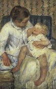Mary Cassatt - The Child's Bath 1880