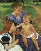 Mary Cassatt - The Family 1892
