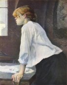Mary Cassatt - The Laundress 1889