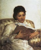 Mary Cassatt - The Reader 1877