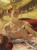Mary Cassatt - Woman In A Loge 1879