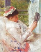 Mary Cassatt - Woman Reading-Lydia 1878