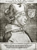 Albrecht Durer - Albrecht Von Brandenburg Archbishop Of Mainz